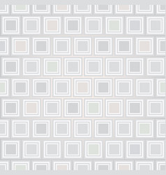 Abstract seamless background square form texture vector