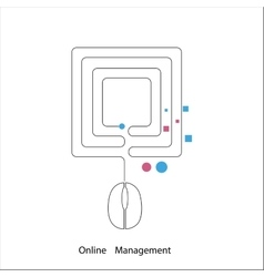 Online management vector