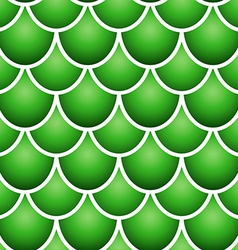 Seamless fish scale pattern vector