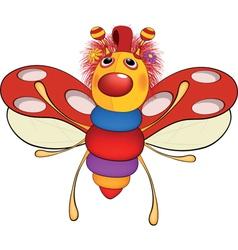 Soft toy A ladybird Cartoon vector image vector image