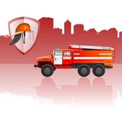 Fire apparatus vector