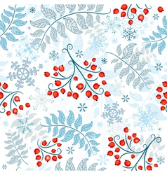 Winter seamless vector