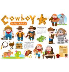 Cowboy hunter prisoner sheriff lawyer farmer vector