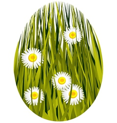 Easter spring egg vector image vector image