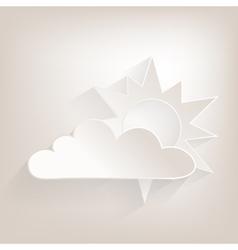 No sun vector image vector image