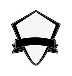 shield badge icon image vector image vector image