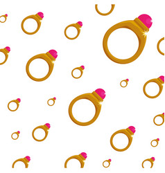 Background wallpaper ring gold jewelry gemstone vector