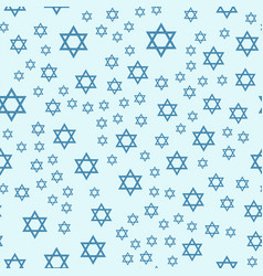 judaism church traditional seamless pattern vector image