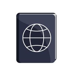 Passport icon image vector
