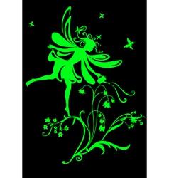 Funky fairy vector