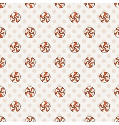 Candy and lollipop seamless pattern sweet vector