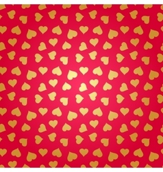 Abstract background with hearts seamless vector image vector image