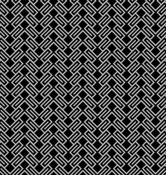 Dark geometric wattled seamless pattern vector