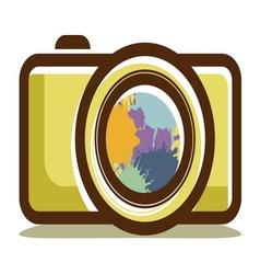 kamera retro aparat2 resize vector image vector image