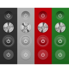 Mac buttons vector