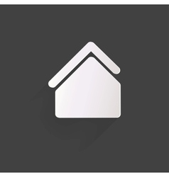 Home iconflat design vector