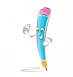 Successful pencil vector