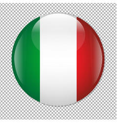 mexican flag icon vector image vector image