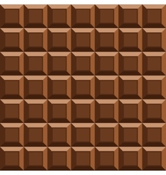 milk tile chocolate seamless background vector image