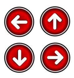 Seth arrows icon vector image