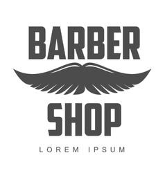 Vintage barber shop logos labels badges design vector