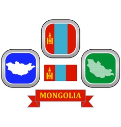 Symbol of mongolia vector