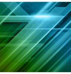 Abstract technology futuristic lines background ep vector image vector image