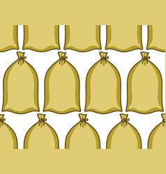 Bag seamless pattern vector