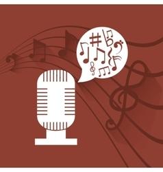 Microphone radio stereo vector