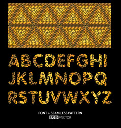 Stylish font poster vector