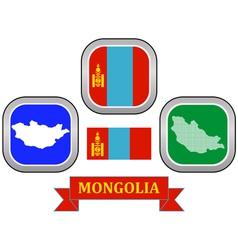 Symbol of mongolia vector