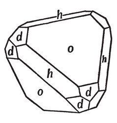 Tetrahedron cube and dodecahedron in combination vector
