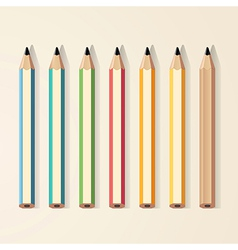 Pencils color vector