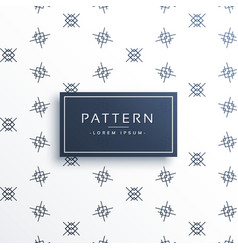 Abstract shape pattern made with line background vector