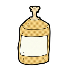 comic cartoon old squirt bottle vector image