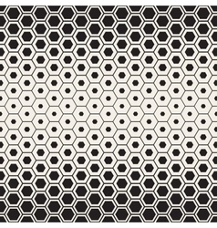 Seamless halftone honeycomb gradient vector