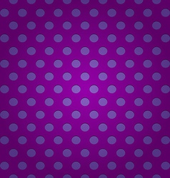 Seamless purple polka dots pattern vector image vector image