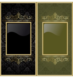 set from frames vector image vector image