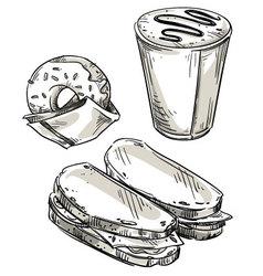 Snack vector