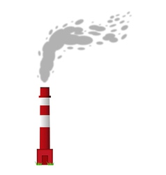 Smoking chimney vector