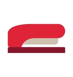 Office stapler isolated vector image