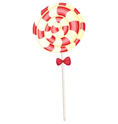 A red candy vector