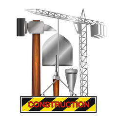 Construction and repair of buildings vector