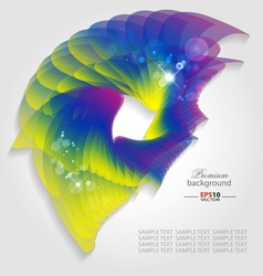 Creative abstract background vector image vector image