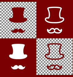Hipster accessories design bordo and vector