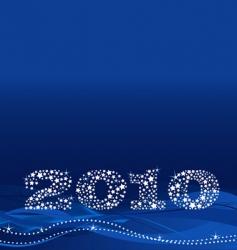 Christmas 2010 design vector