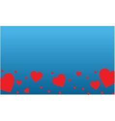 Romance them for valentine day art vector