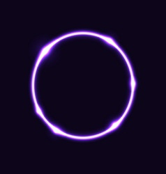 Violet circle effect background vector