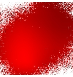 Snowflakes background texture red vector
