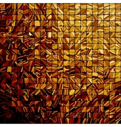 Abstract gold background with copy space EPS 10 vector image vector image